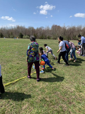 2019 Easter eggs hunting