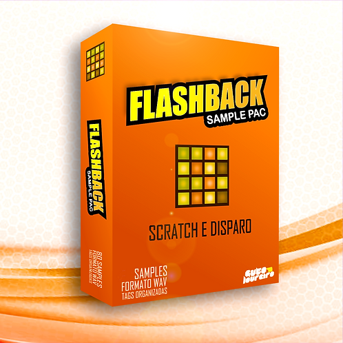 Pac de Samples Flashback para Scratch e Disparo