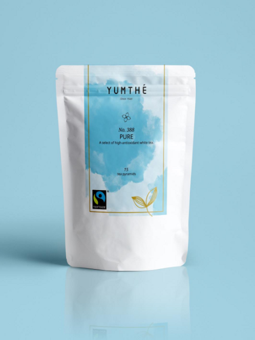 No.388 公平貿易有機白茶 15茶包裝
