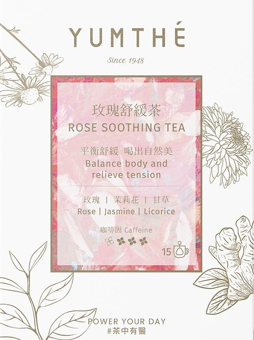 Rose Soothing Tea 15 Pyramids