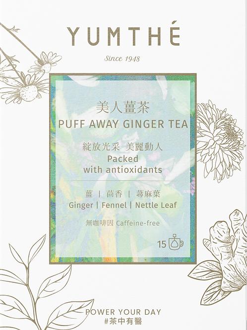 Puff Away Ginger Tea 15 Pyramids