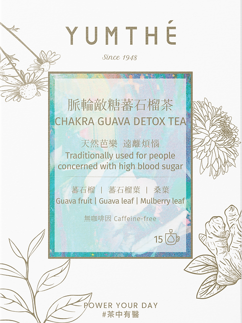 No. 06 Chakra Guava Tea 15 Tea Packaging