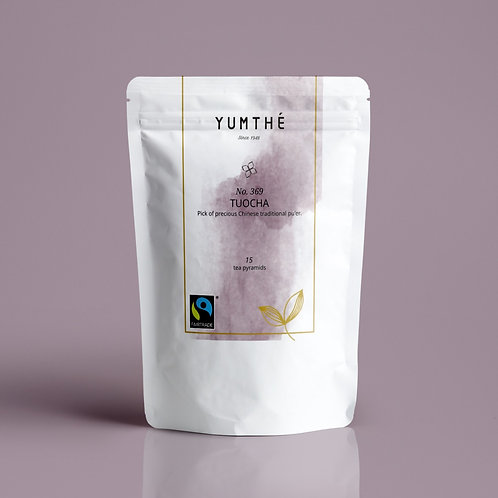 No.369 Fairtrade Organic Black Tea 15 Tea Packaging