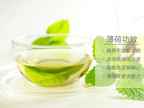 【醫食同源:薄荷治風熱 泡茶口感佳】