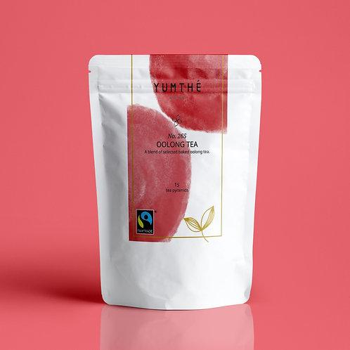 No.265 公平貿易有機烏龍茶 15茶包裝