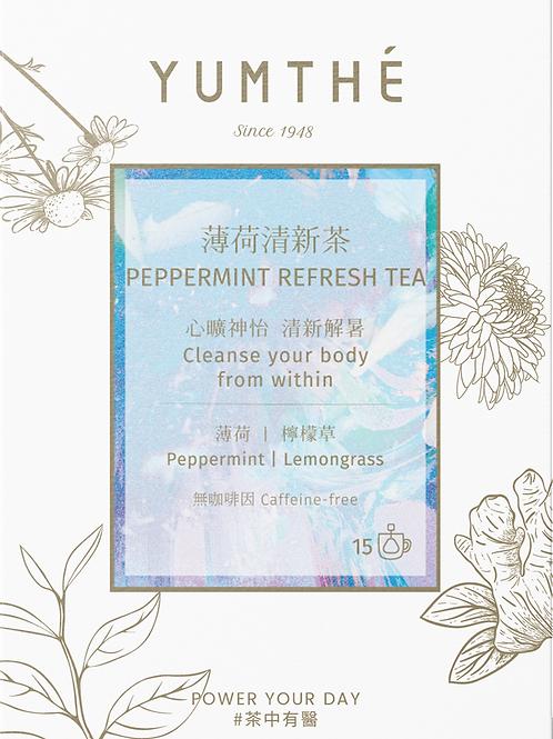 Peppermint Refresh Tea  15 Pyramids