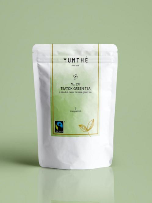 No.235 公平貿易有機綠茶 15茶包裝