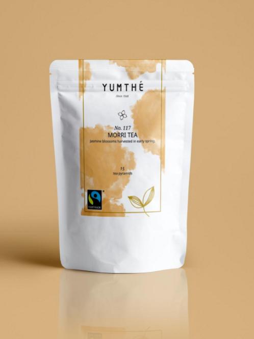 No.117 Fair Trade Organic Jasmine Tea 15 Tea Packaging