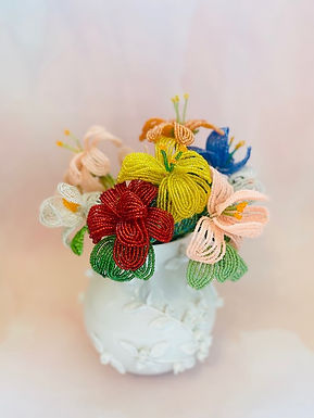 May   Mom & Me French Beaded Flowers