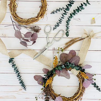 Fragrant Dried Floral Wreath Workshop