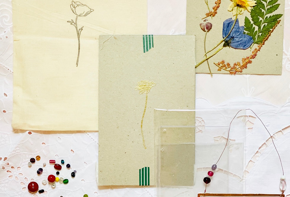 Pressed Flower Art Kit