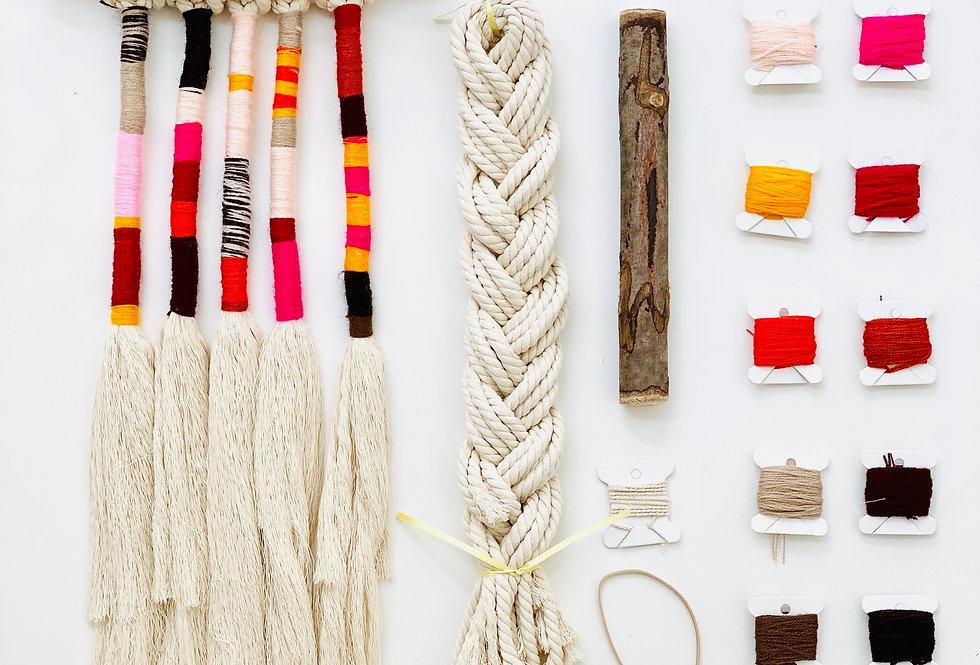 Macrame Wall-Hanging DIY Kit