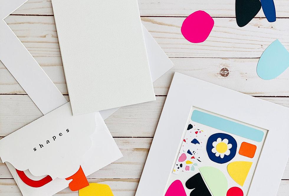 Mini Abstract Collage DIY Kit