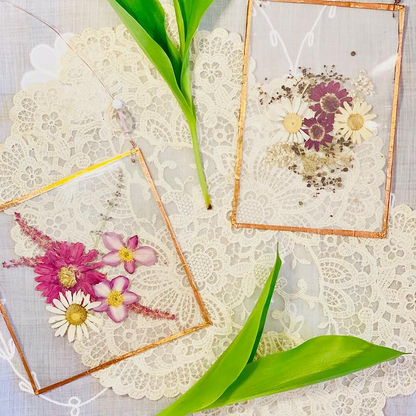 Pressed Flower Art Workship
