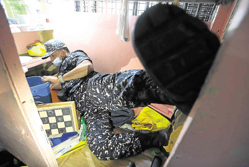 Cellphones, 'CCTV' among contraband found in QC Jail (Philippine Daily Inquirer)