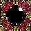 Thumbnail: פינות פרחוניות בורדו