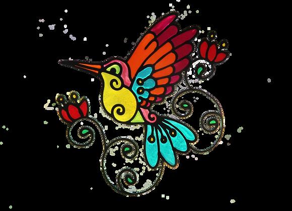 ציפור צבעונית