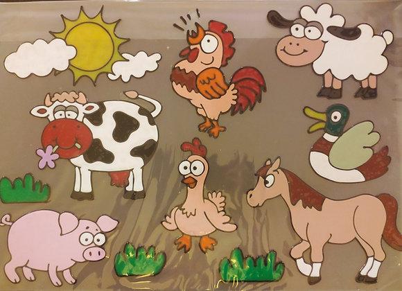 סט חיות החווה