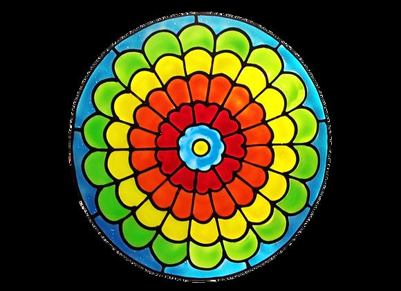 מנדלה צבעונית