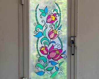 עיטור פרחים צבעוני