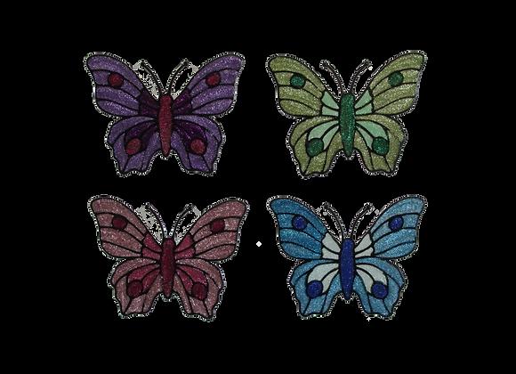 פרפרים צבעוניים נוצצים