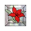 Thumbnail: ריבוע פרח אדום