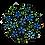 Thumbnail: עיגול פרחים כחול
