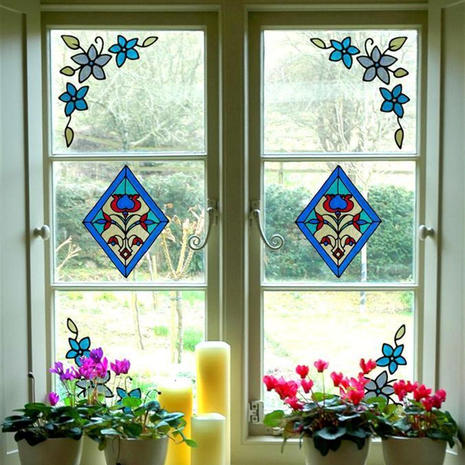 מדבקות ויטראז' לחלון