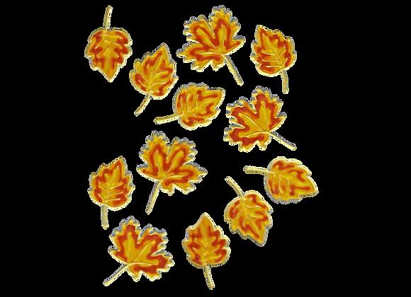 עלים צהוב