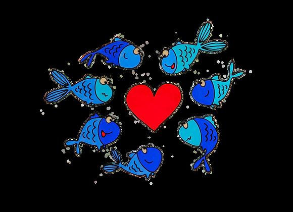 דגים כחולים