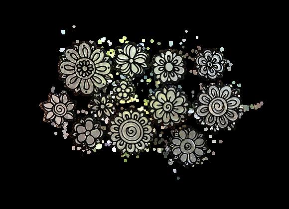 פרחים שחורים