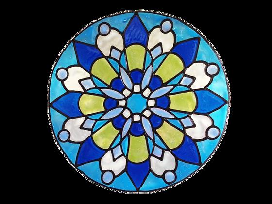 מנדלה כחול