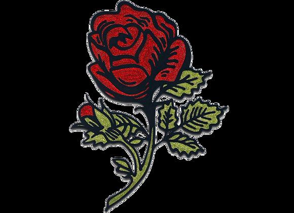ורד אדום נוצץ