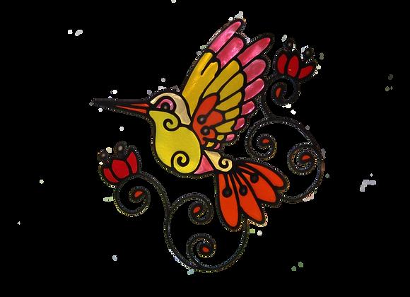 ציפור ציבעונית