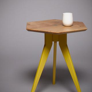 TedWood_X_Mylands,_BoltUp_side_table,_Ha
