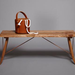 BeltUp Bench, Elm, Creative CoOp  copy 2