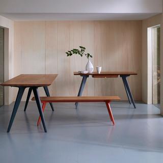 TedWood TipToe Desk, table, bench. Credi