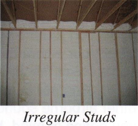 irregular studs