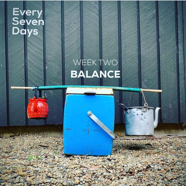 EverySevenDays2021 Week 2 Balance