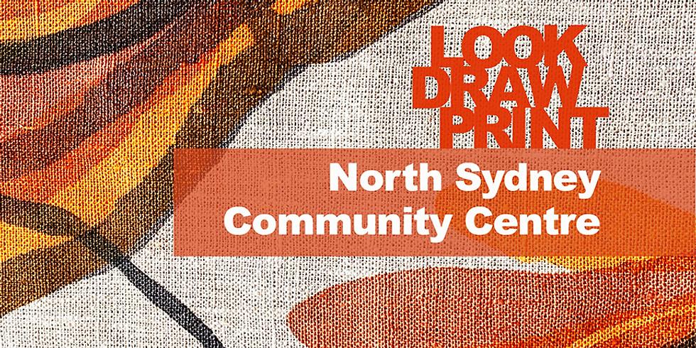 LookDrawPrint Workshop September 22nd at North Sydney Community Centre