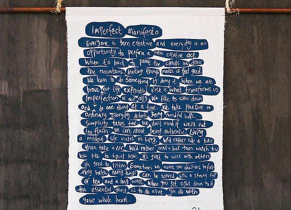 Imperfect Manifesto
