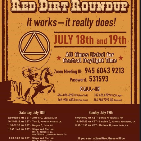 4th Annual Red Dirt Roundup