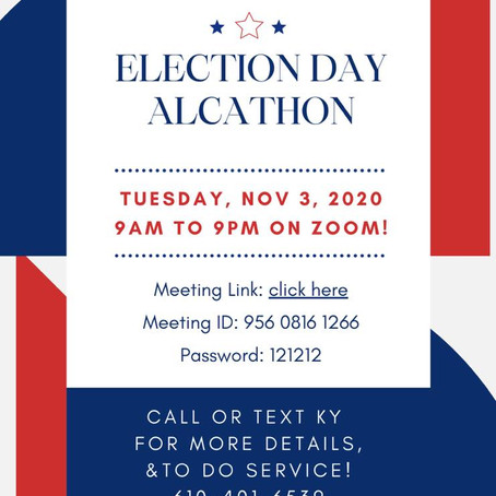 Election Day Marathon Meetings