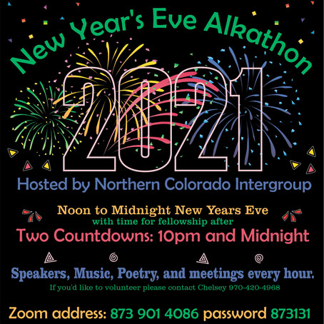 New Year's Eve Alkathon Event
