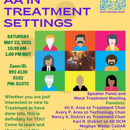 Treatment Workshop