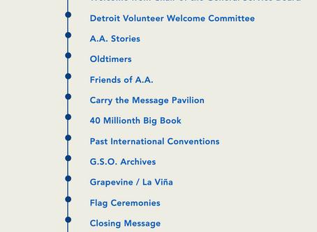 A.A.'s Virtual 2020 Convention
