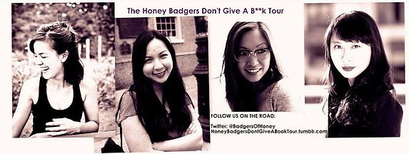 Michelle Chan Brown, Cathy Linh Che, Sally Wen Mao, Book Tour, Honey Badgers Don't Give a B**k Tour