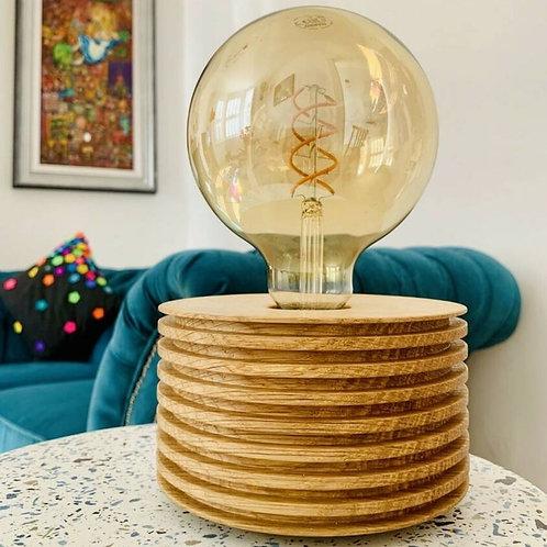 Croyde Oak Table Lamp