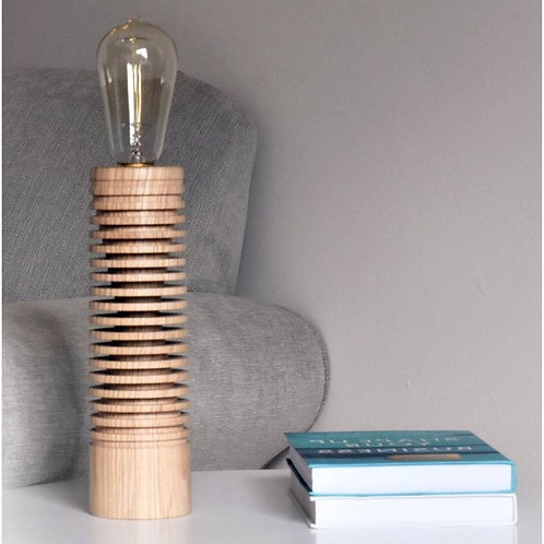 Branscombe Table Lamp - Ash wood