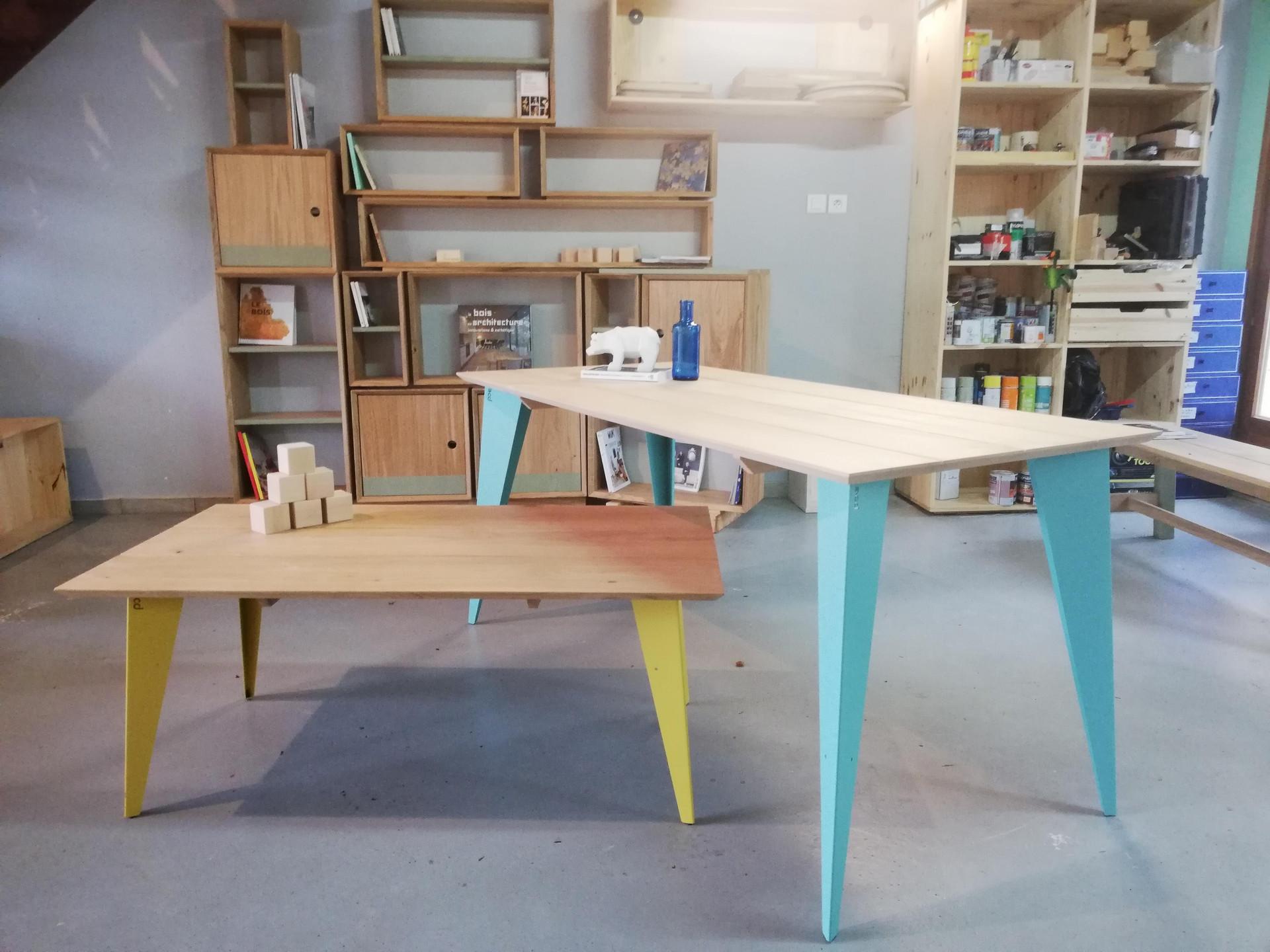 Tables Collection Bleu-Puy Tables Collection Bleu-Puy  #PuysMobilier